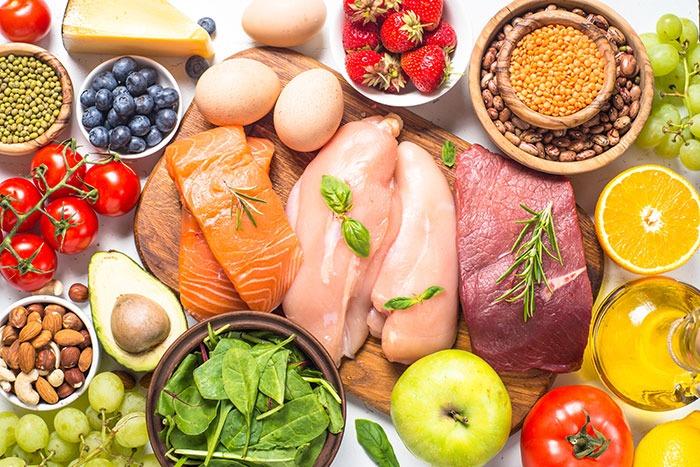 Balanced-keto-Diet-Food
