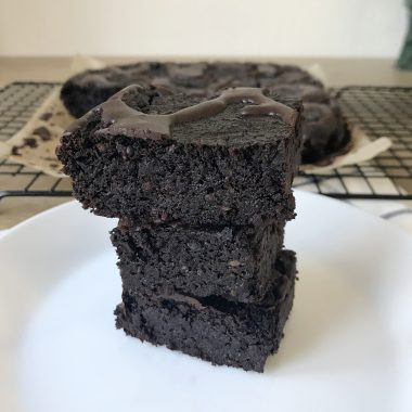 Keto Avocado Brownies (Low-carb and Sugar-Free)