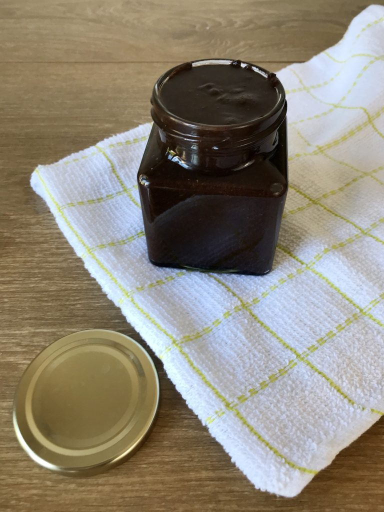 Low-carb Nutella