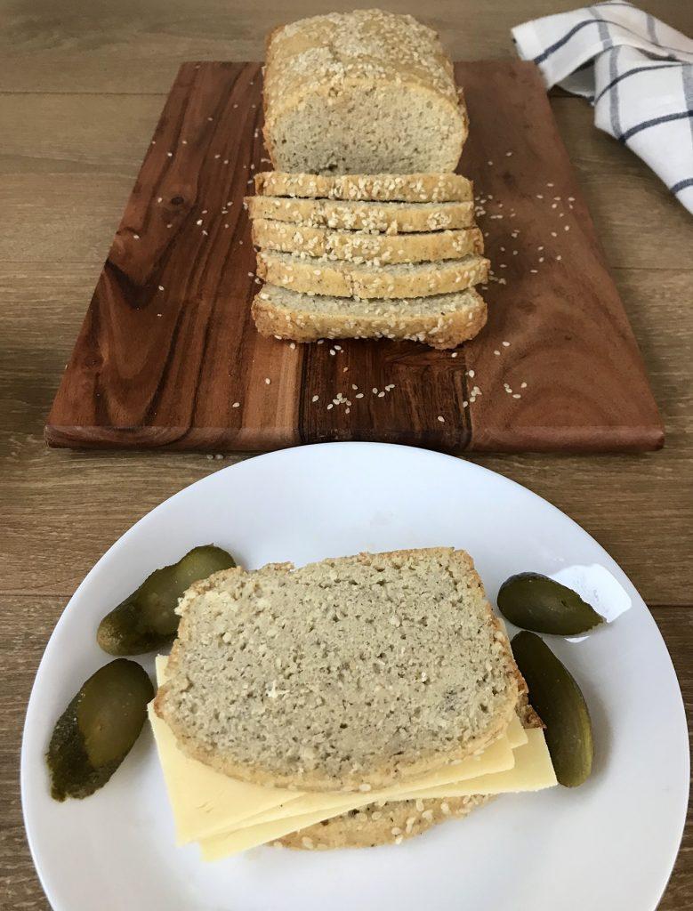 Keto-Sesame-Bread