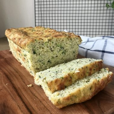 Keto Zucchini Cheesy Bread Recipe