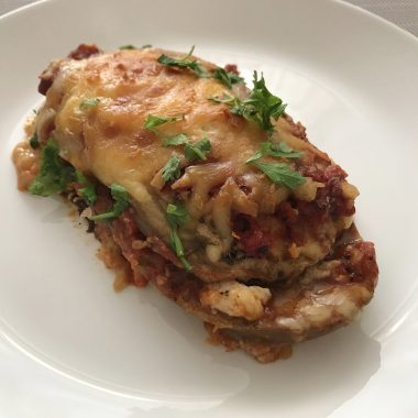 Low-Carb Cheesy Eggplant Lasagna Recipe
