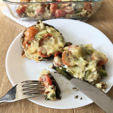 Pizza Stuffed Mushrooms - Keto Recipe