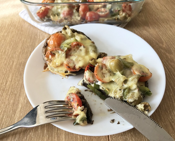 Pizza-Stuffed-Mushrooms