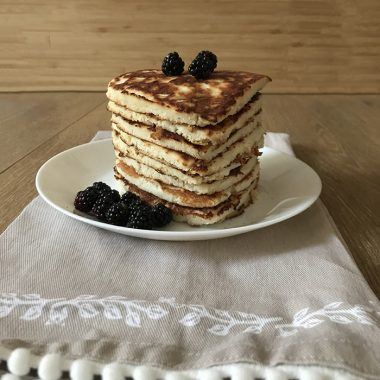 Coconut Flour Pancakes - Low-Carb And Fluffy