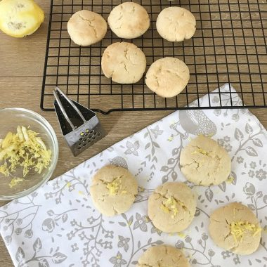low carb lemon cookies
