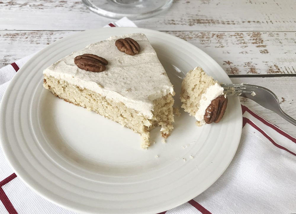 sugar-free pumpkin cake
