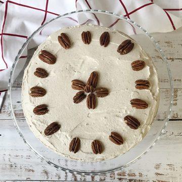 low-carb-Pumpkin-Cake