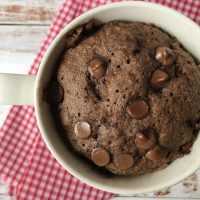 Almond Flour Chocolate Mug Cake Recipe