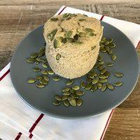 Keto Pumpkin Mug Cake - Healthy And Sugar-Free