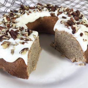 Peanut Butter Keto Cake With Cream Cheese Frosting