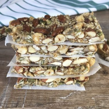 No Bake and Easy Made Keto Low Carb Granola Bars