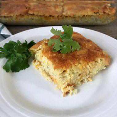 Cheesy Cauliflower Rice Recipe - Easy Made Cauliflower Rice