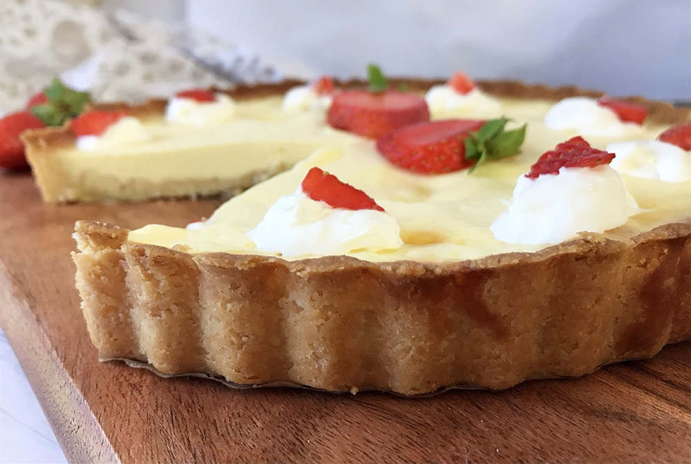 Low Carb Custard Pie