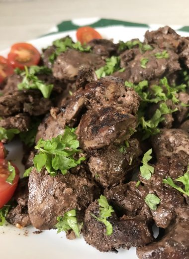 Grilled Chicken Liver