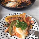 Spicy vegetable eggs
