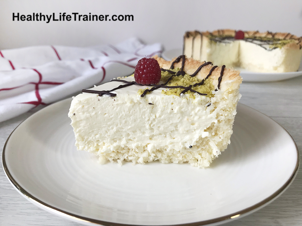 coconut crusted cheesecake
