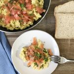 Smoked Salmon With Scrambled Eggs