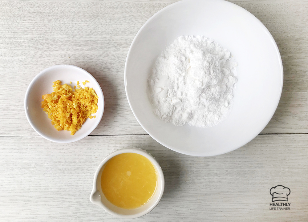 Orange Glaze Ingredients