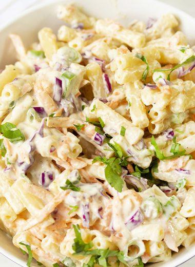 Macaroni Salad With Vegetables