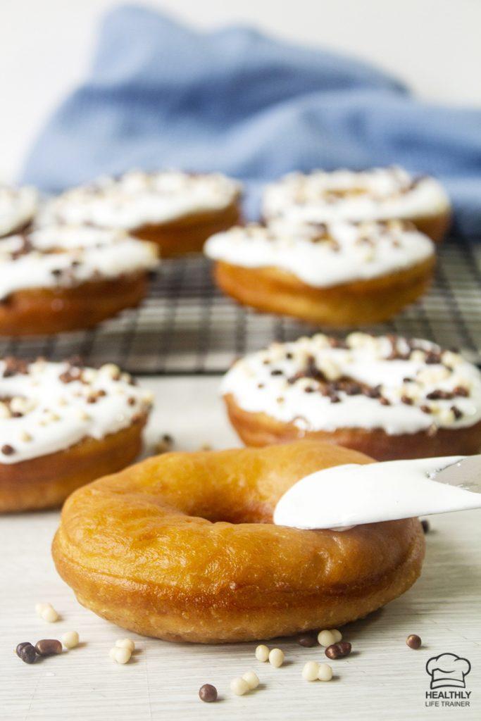 Fluffy Homemade Doughnut Recipe