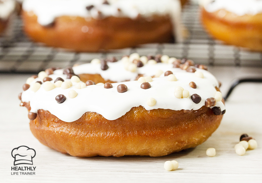 Who doesn't love the smell and taste of a fresh homemade doughnut with a sweet glaze.