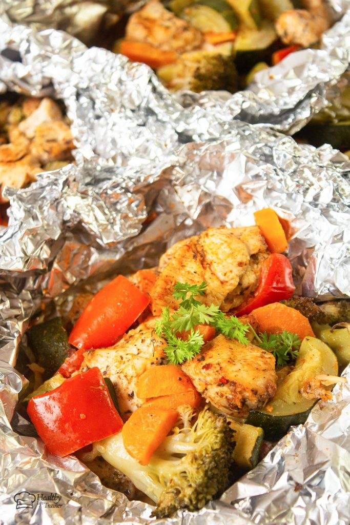 Foil pack cajun chicken and veggies is an incredibly good dinner idea because it is simple and easy to make