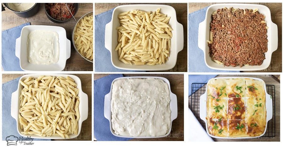 how to make this Baked Pasta step by step