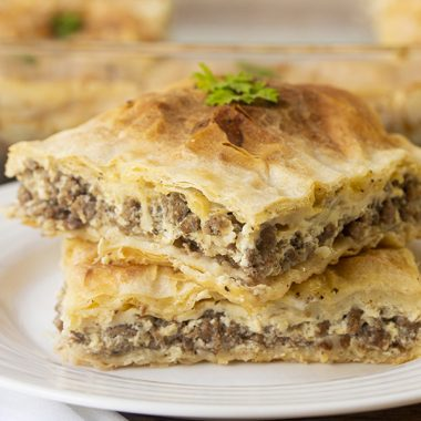 Meat Pie With Phyllo Crust (Egyptian Goulash)