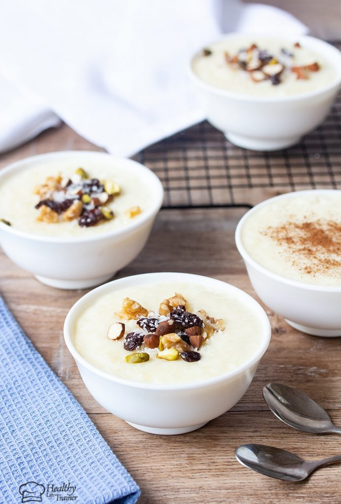 This rice pudding recipe requires just a few ingredients that can be found in anyone's kitchen.