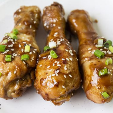 Sticky Chinese Chicken Drumsticks