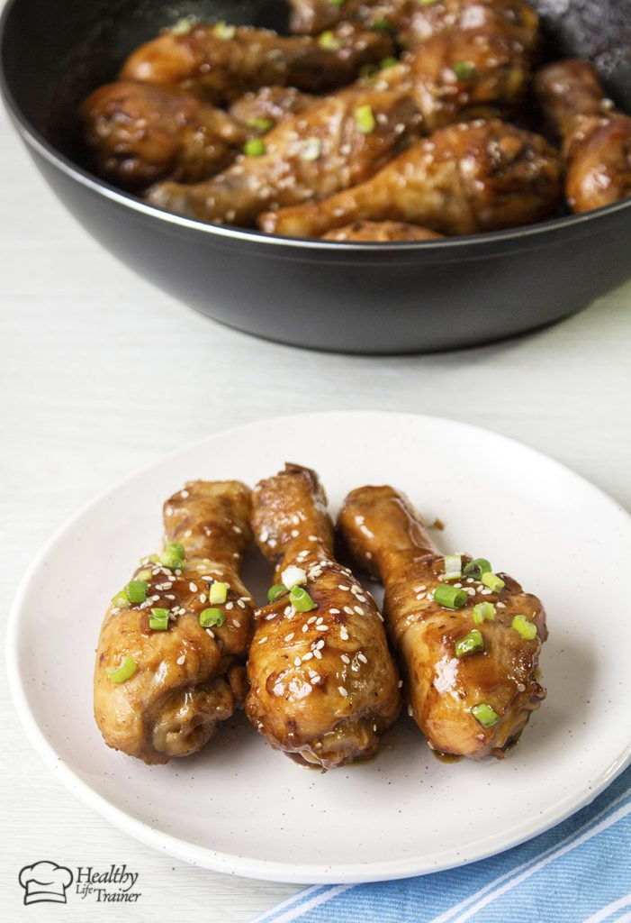 Sticky chicken drumsticks – is such a popular Chinese style chicken recipe that everyone loves.