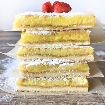 These low carb lemon bars are the perfect dessert for the spring weather; they are so tangy and sweet.