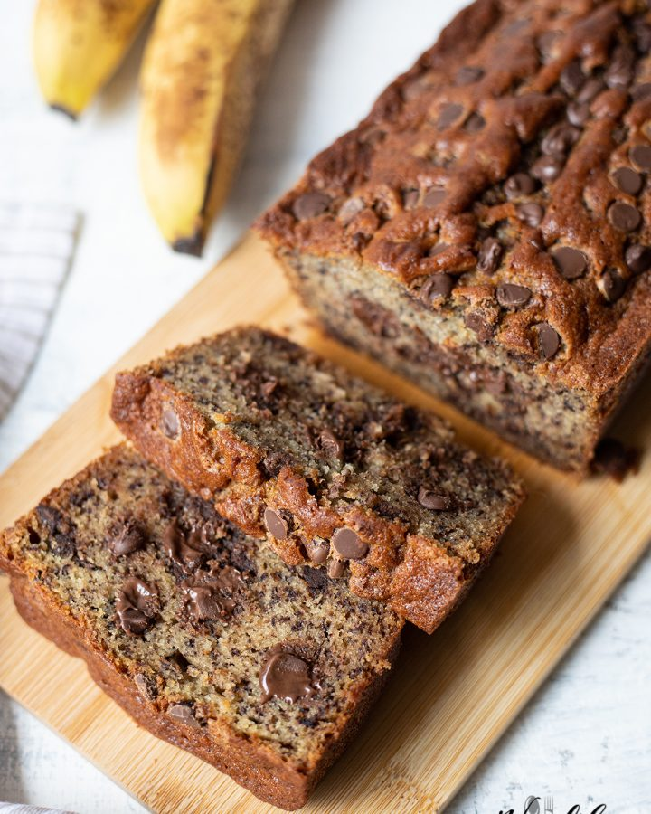 Chocolate Chips Banana Bread
