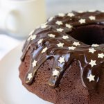 Chocolate Sour Cream Bundt Cake With Ganache