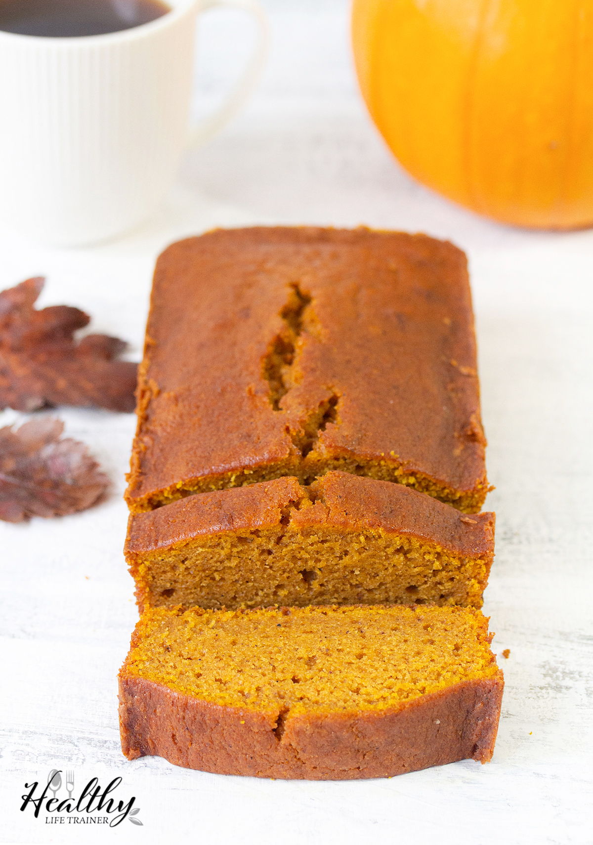 Another pumpkin recipe this time it is a homemade pumpkin bread.