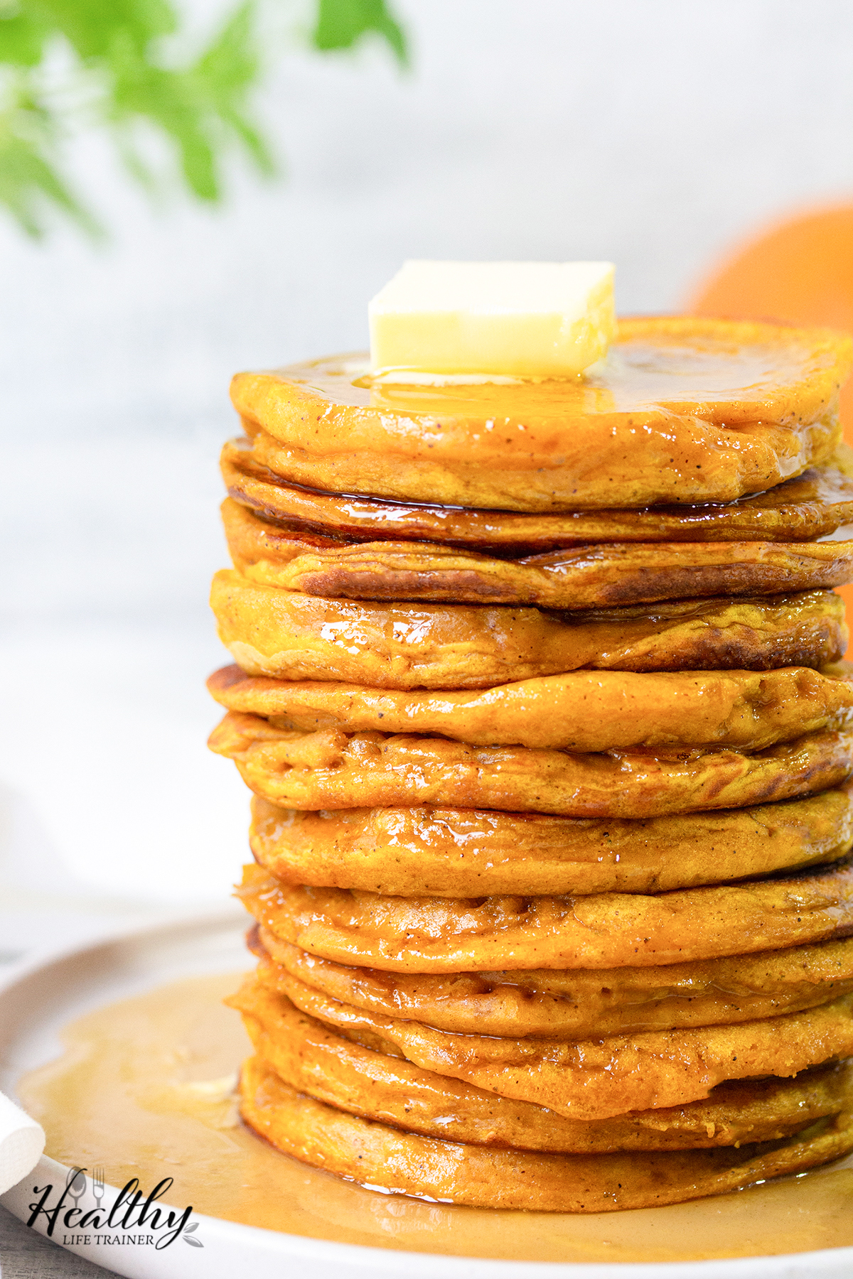 Healthy Pumpkin Pancake Recipe
