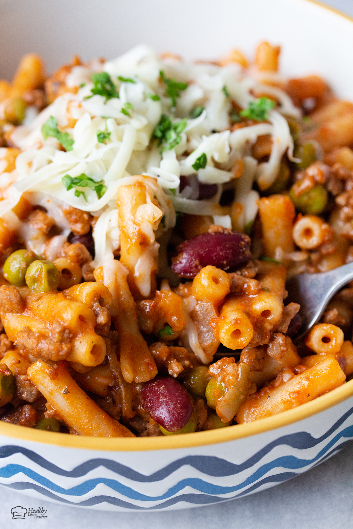One-Pot Beef Mac And Cheese