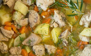 Chicken Stew With Veggies