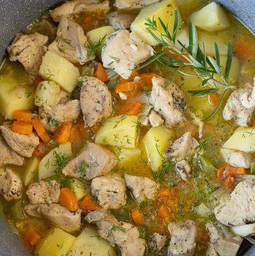 Chicken Stew With Veggies