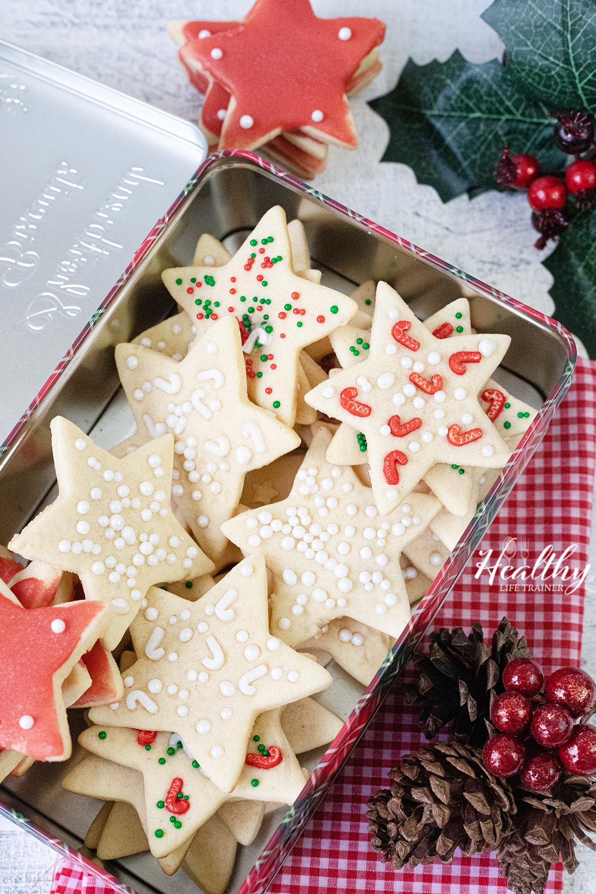 Christmas Cookie in a box