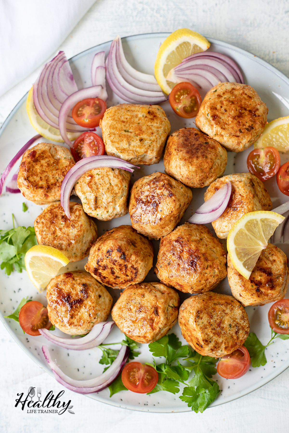 Grilled Chicken Kofta