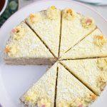 Eggnog Cake with Eggnog Buttercream