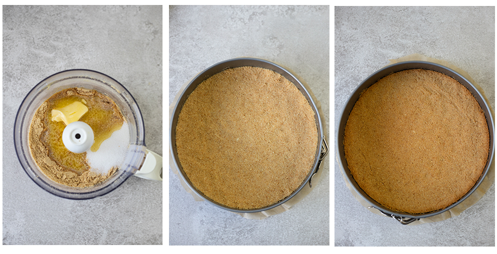 steps of making the crust