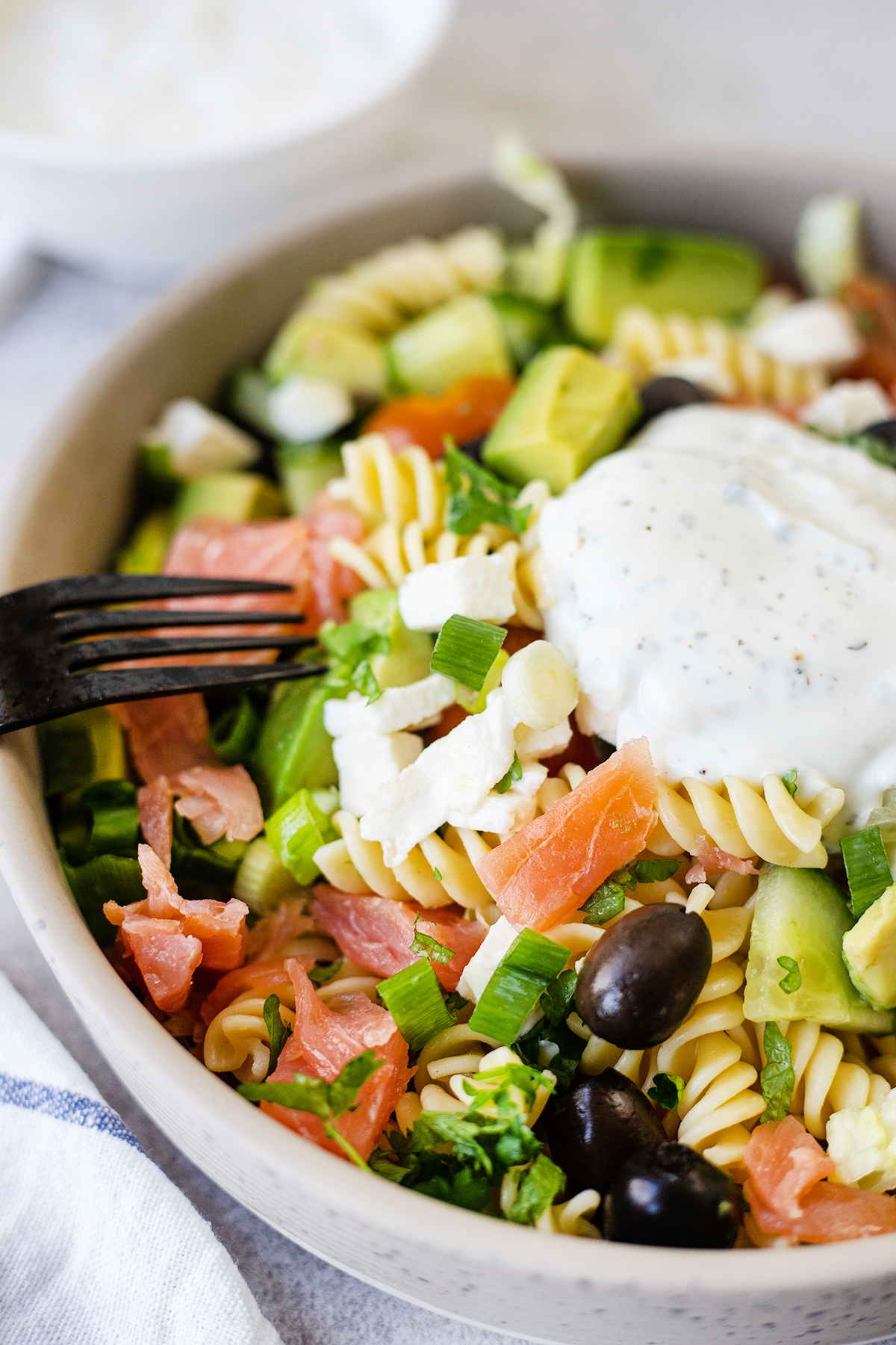 healthy, colorful, loaded with flavours #Italianpastasalad #healthysalad #easylunchrecipe #lightdinner #quickrecipes