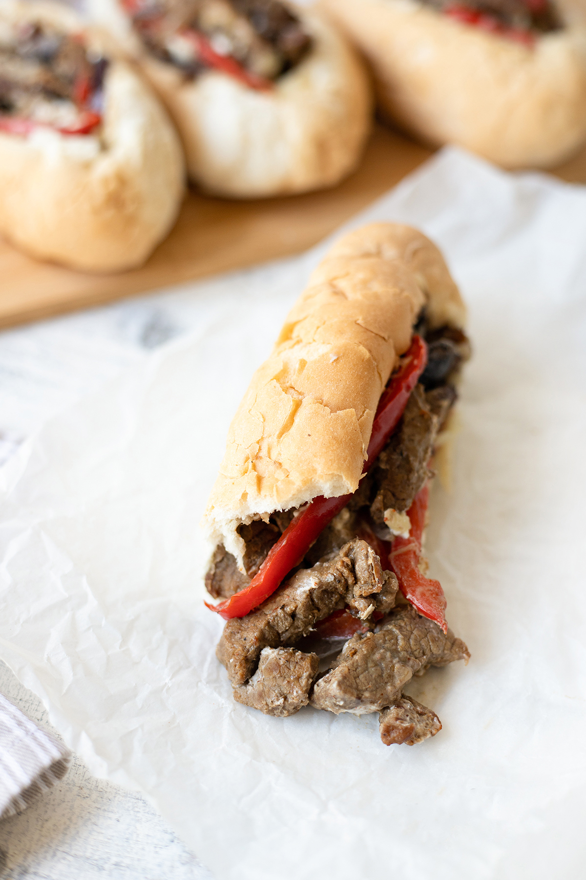 Philly Cheesesteak #Phillycheesesteaksandwich #EasySandwich #phillycheesesteakrecipe #lunchrecipes #bestphillycheesesteak