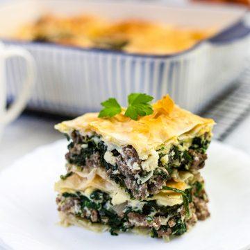 Spanakopita - Spinach Pie