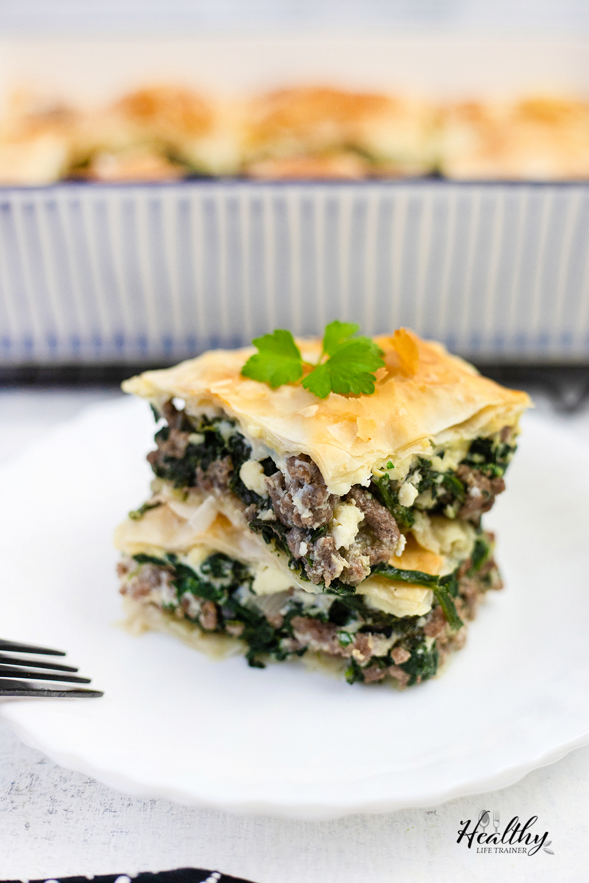 Spinach Pie #spanakopitarecipe #spanakopitapie #spinachpie #dinnerpie #mediterraneanrecipe