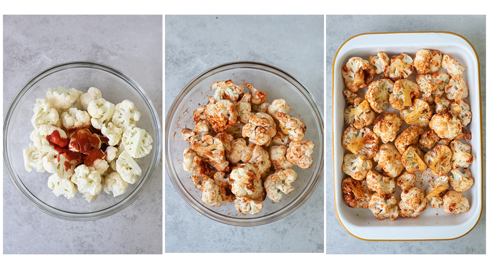 How to make Spicy Roasted Cauliflower