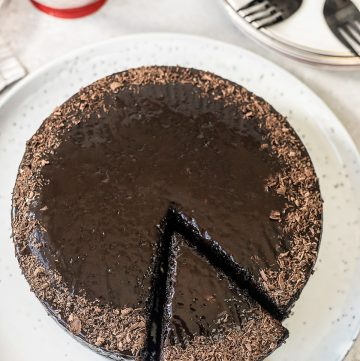 3-Ingredient Chocolate Cake